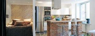 Дизайн интерьера маленькой квартиры-студии | 30 идей оформления