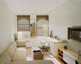 Дизайн квартиры-студии 20 и 25 кв. м. – фото интерьеров