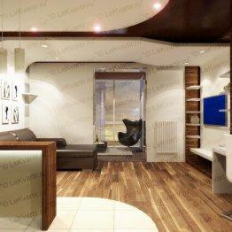 Дизайн квартиры-студии: дизайн интерьера маленькой студии в СПб