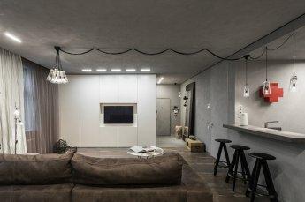 Интерьеры и дизайны квартир студий - Дизайн квартиры-студии