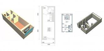 Купить квартиру-студию в Санкт-Петербурге от застройщика в