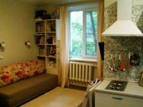 Квартира-студия из комнаты 20,8 м2