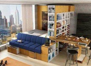 квартиры студии маленькие | Квартира студия - идеальное решение