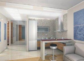 Ремонт квартиры студии под ключ, цена ремонта комнат квартиры