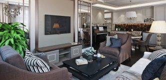 Уютная Квартира — дизайн проект квартиры, загородного дома
